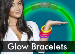 Glow Stick Bracelets & Glow in the Dark Wristbands