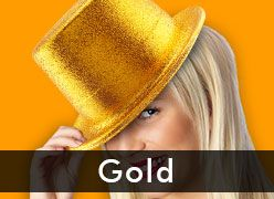 Gold Party Supplies & Decorations