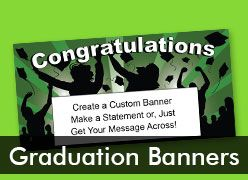 Graduation Custom Banners