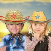 Kid's Cowboy Hats - 12 Pack