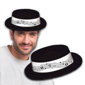 Music Note Skimmer Hat