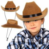 Kid's Brown Cowboy Hat