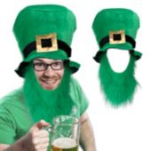 St. Patrick's Top Hat With Beard