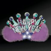 LED Happy New Year's Tiara