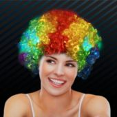 Rainbow LED Spirit Wig