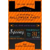 Bewitching Halloween Party Invitations