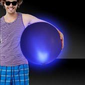 "Blue LED Beach Ball - 30"""