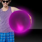 "Pink LED Beach Ball - 30"""