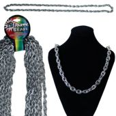 "Silver Chain Necklaces-44""-12 Pack"