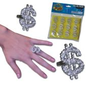Bling Rings  - 12 Pack
