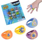 Psychedelic Rings - 12 Pack