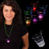Multi-Color LED Shot Glass-2oz