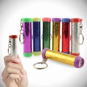 Kaleidoscope Keychains-12 Pack