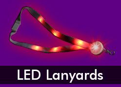 Light Up & LED Lanyards