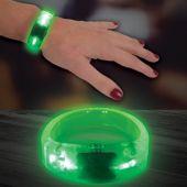 Green LED and Light-Up Bangle Bracelet