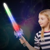 "LED Spinner 23"" Sword"