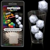 White LED and Light-Up Ice Cube-Retail Pack