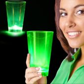 Neon Green LED and Light-Up Cup-12oz
