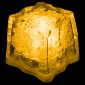 Yellow LED Ice Cubes-24 Pack