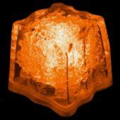 Orange LED Ice Cubes-24 Pack