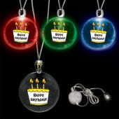 LED Happy Birthday Pendant-12 Pack