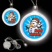 Happy Holidays LED Necklace