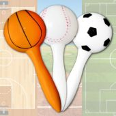 Sports Party Maracas-12 Pack