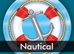 Nautical & Sailor Theme Party Supplies