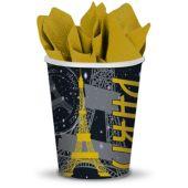 Paris Cups-9oz-8 Pack