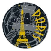 "Paris 9"" Plates-8 Per Unit"