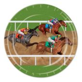 "Horse Racing Plates-9""-8 Pack"