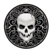"Fright Night Plates- 7""-18 Per Unit"