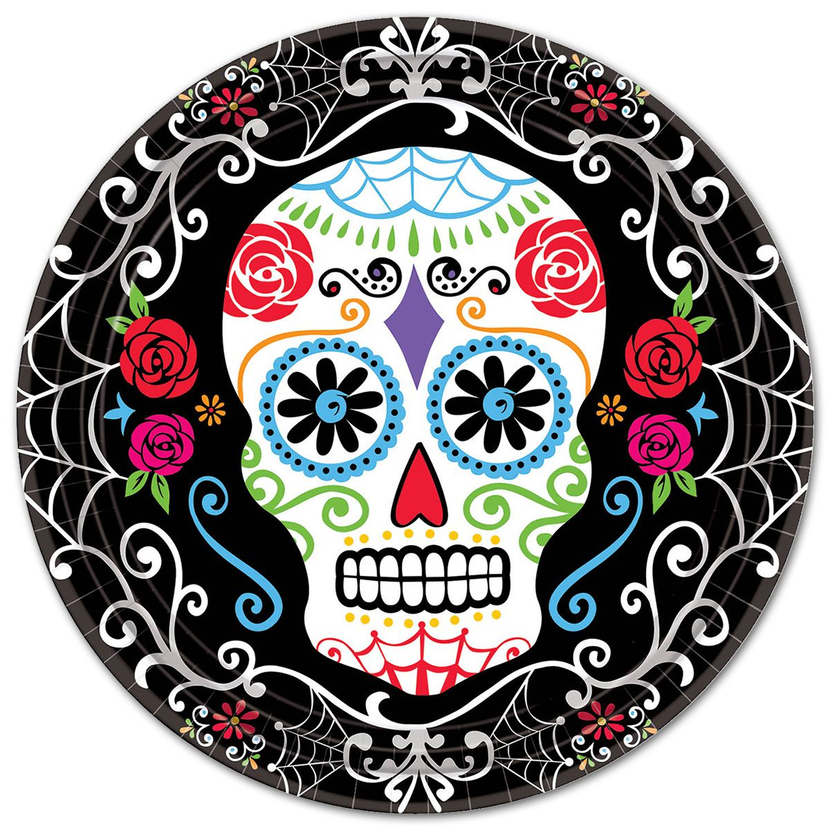 Halloween skull decorations - Switch Up Your Annual Halloween Celebrations With A Day Of The Dead
