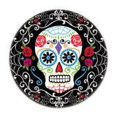 """Sugar Skull Plates- 7""""- 18 Per Unit"""
