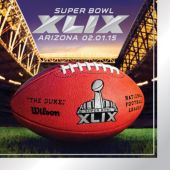 Super Bowl XLIX Lunch Napkins-16 Pack