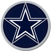 "Dallas Cowboys 9"" Plates – 8 Pack"