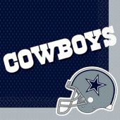 Dallas Cowboys Lunch Napkins – 16 Pack