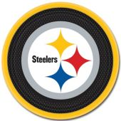 "Pittsburgh Steelers 9"" Plates – 8 Pack"