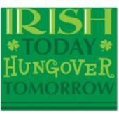 Irish Today Beverage Napkins-18 Pack