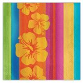 Aloha Summer Lunch Napkins - 16 Per Unit
