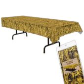 Straw Plastic Table Cover