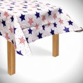 Patriotic Stars Table Cover