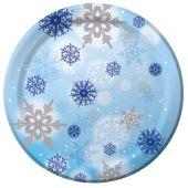 "Snowflake Magic 10"" Plates - 10 Pack"