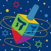 Hanukkah Festive Lunch Napkins – 18 Pack