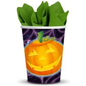 Playful Pumpkin Cups-9oz-25 Pack