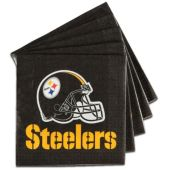 Pittsburgh Steelers NFL Lunch Napkins - 16 Pack