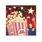 Hollywood Lights Beverage Napkins - 16 Per Unit