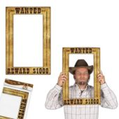 Western Wanted Sign Photo Frame