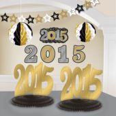 Black, Silver, Gold 2015 Decorating  Kit