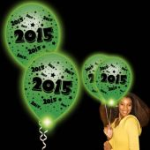 2015 White Pro Lumi Loon With Green Lights - 10 Pack